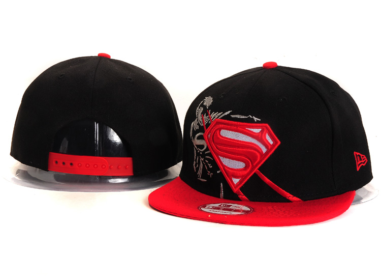 Super Man Snapback Hat 16